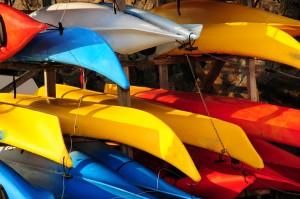 9858128-canoes